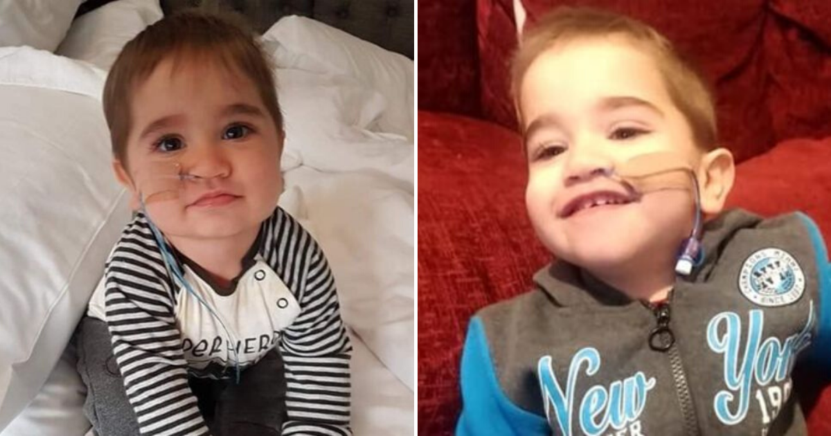 benjamin5.png - Family Of 2-Year-Old Boy Who Had A Heart Transplant And Suffered A Stroke Speaks Of Fears