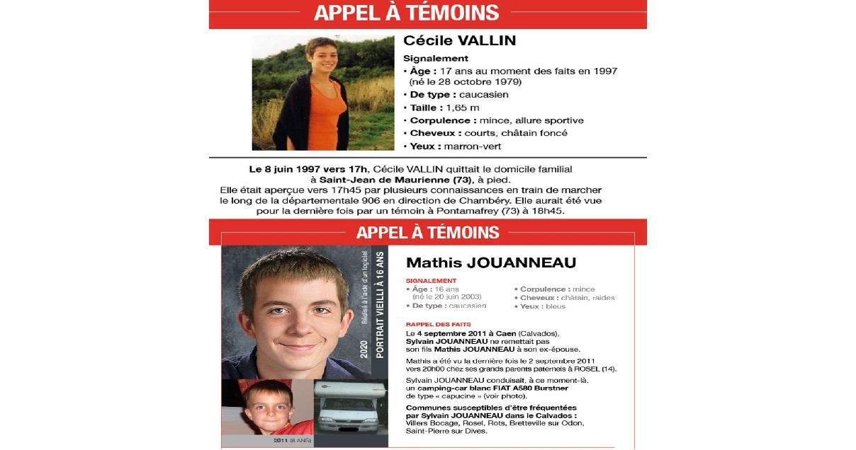 cold case.jpg - Appels à témoins: la police rouvre deux enquêtes d'enfants disparus en 1997 et 2011