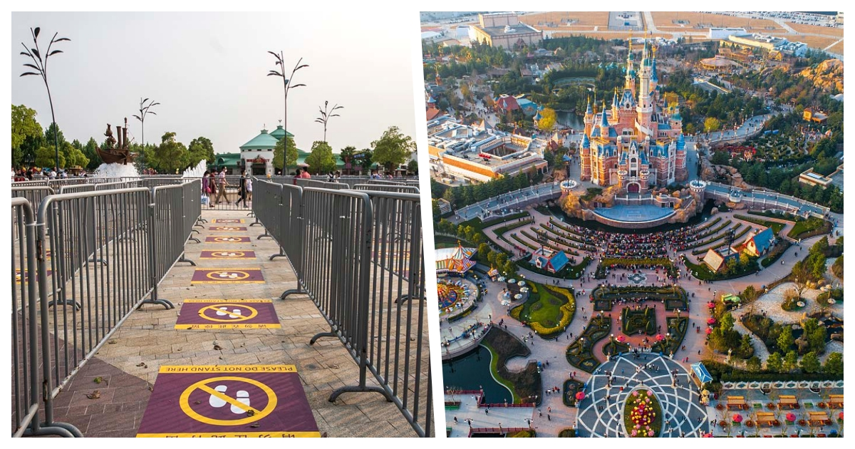 collage 12.jpg - Disneyland in Mainland China Is Sold Out As It Reopens For The First Time Since January