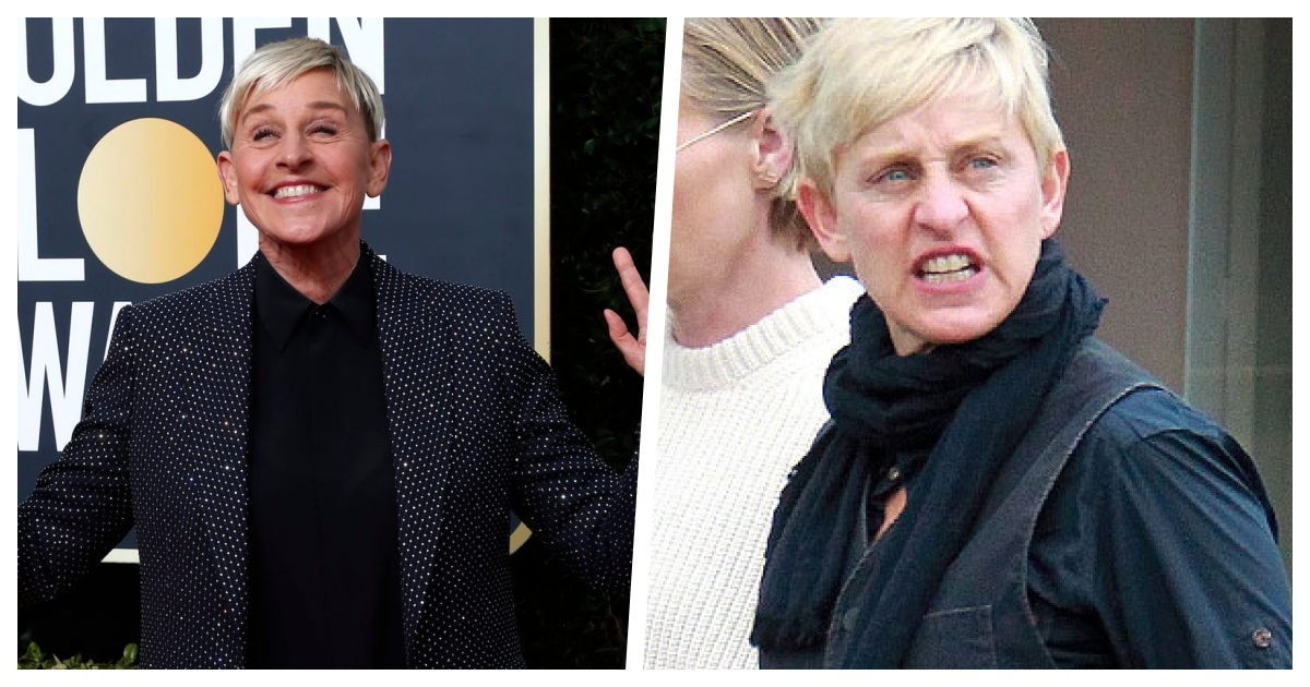 collage 18.jpg - The Double Life of Ellen - Allegations That She Is Nothing Like Her On-Screen Persona Surface