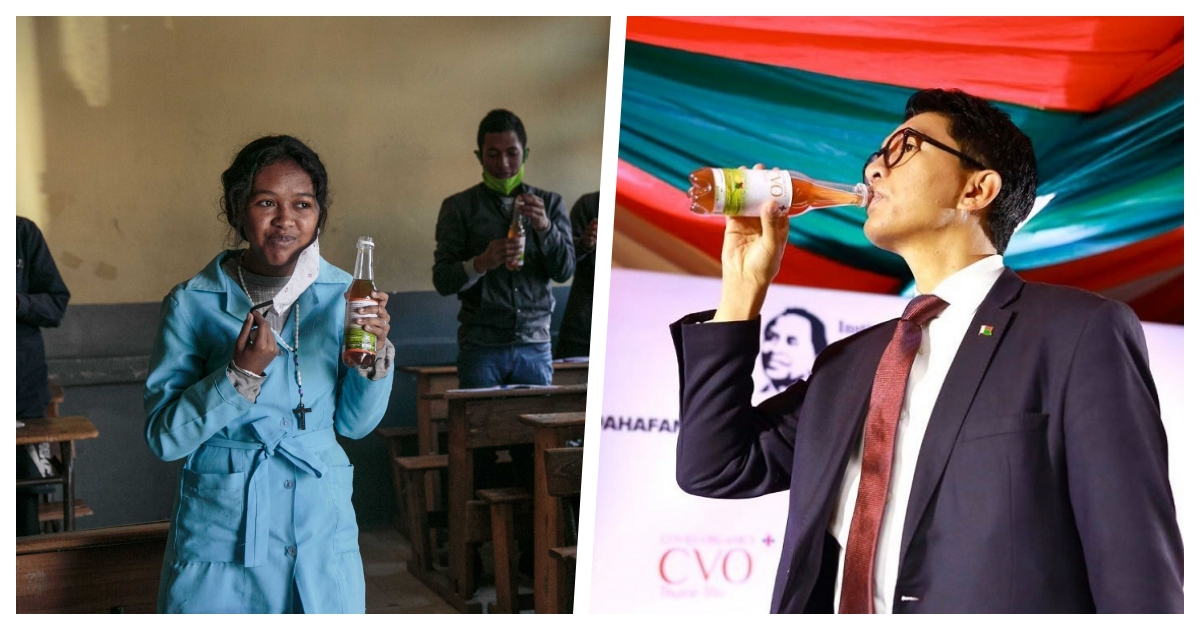 collage 41.jpg - Madagascar Promotes A Herbal Tonic That Supposedly Cures Covid-19 Despite WHO Warnings