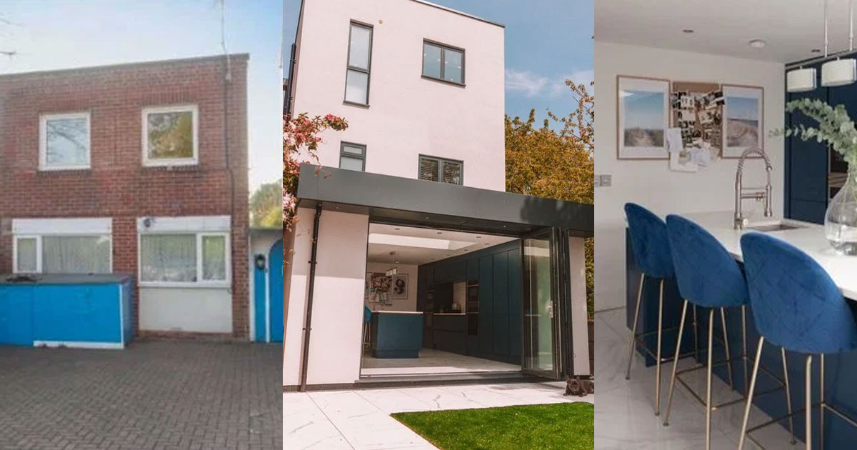 couple who owned ugliest house on the street transformed their house and someone asked whether they bought a new one.jpg - Couple Shared How They Transformed Their 'Ugliest House On The Street' To A Beautiful Modern House