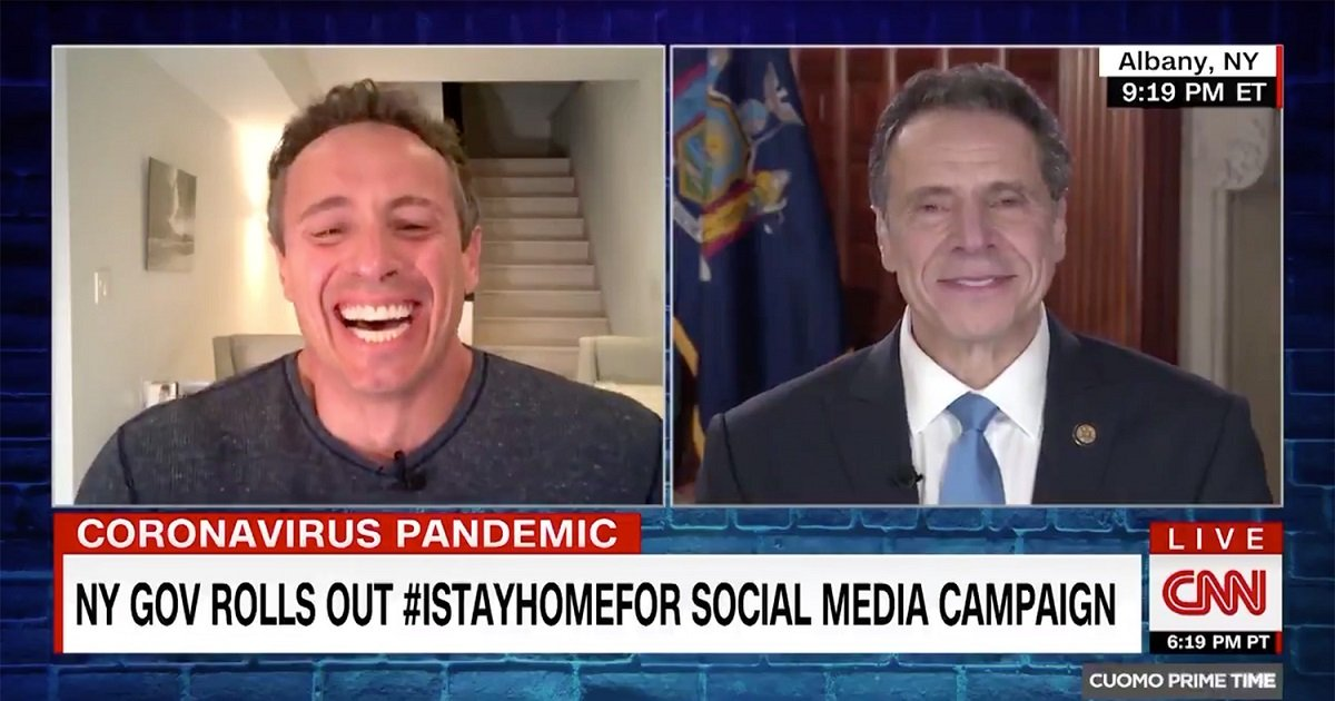 cuomo.jpg - The Bickering Between Chris Cuomo And Governor Andrew Cuomo Is Hilarious Yet Informative