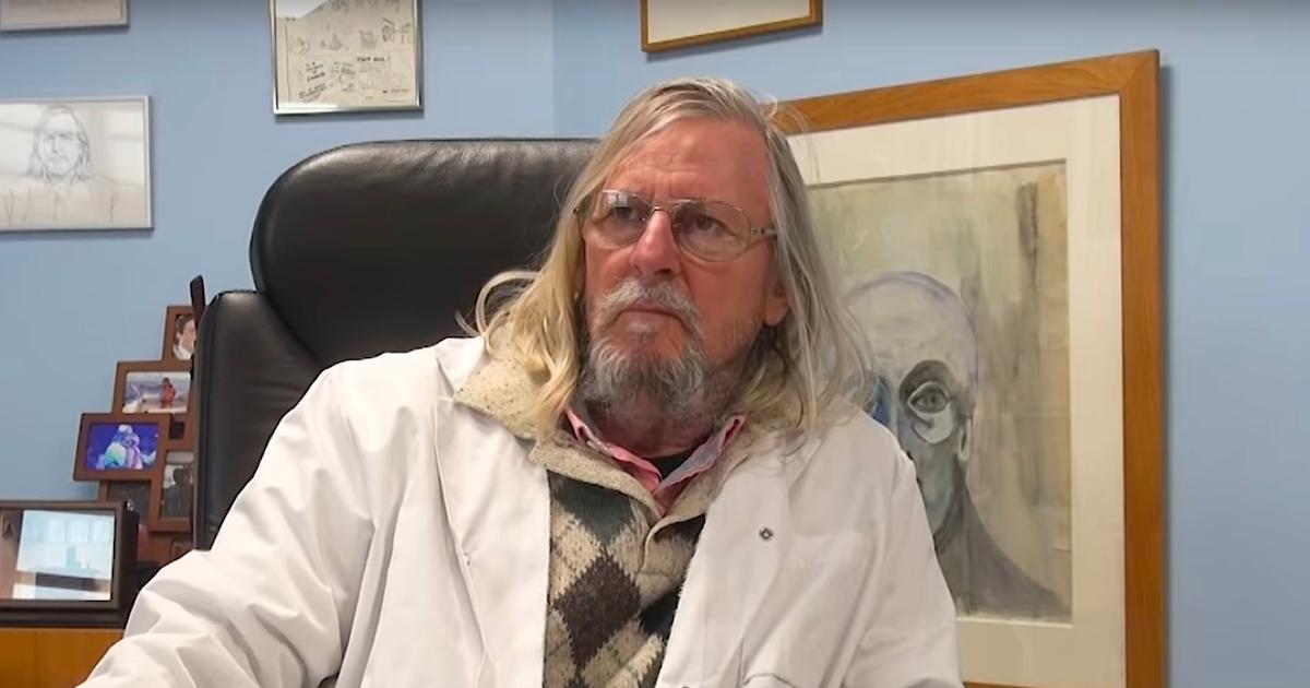 didier raoult.png - Un Marseillais fan du professeur Didier Raoult s'est fait tatouer son portrait sur la jambe