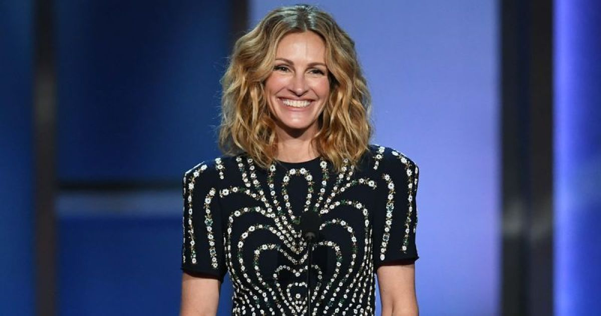 ec8db8eb84ac 16.jpg - Julia Roberts Dons Met Gala Dress In Her Quarantine, While She Might Have Been Cast as Harriet Tubman According To Revelations