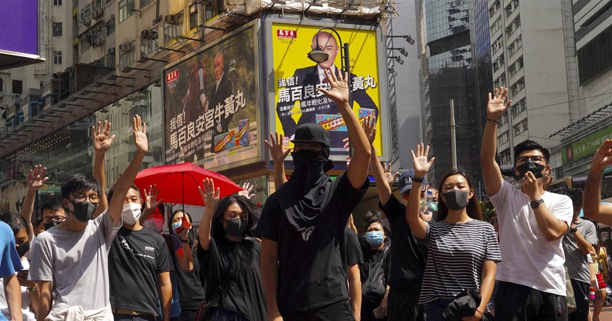 ec8db8eb84ac 2 15.jpg - Hong Kong Protests Again Against Chinese Government As New Legislation Inhibits Civil Gatherings
