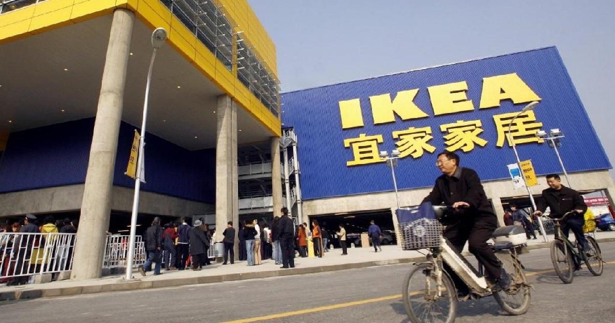 ikea.jpg - Une femme fait une vidéo de charme dans un magasin Ikea et devient virale sur les réseaux sociaux