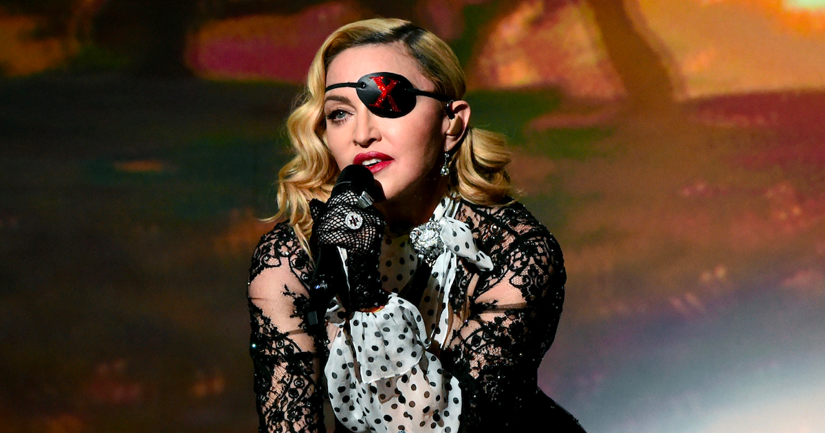 madonna.png - Madonna affirme avoir contracté le coronavirus lors de sa tournée à Paris en février