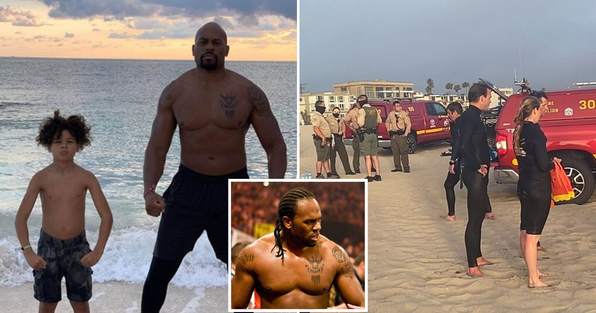 missing5.png - Former WWE Star Shad Gaspard Goes Missing After Rip Current Pulled Him To The Sea While Swimming With 10-Year-Old Son