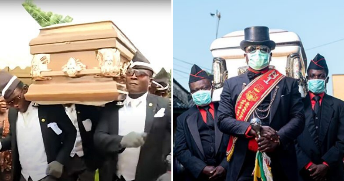 pallbearers4.png - Ghana's Famous Dancing Pallbearers Shared Message Thanking Healthcare Workers Around The World