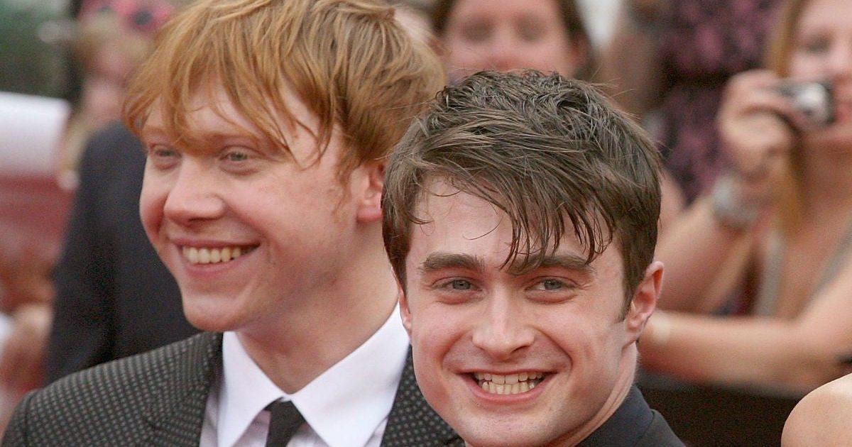 ruper grint daniel radcliffe gettyimages 119175295 1 e1590019349146.jpg - Daniel Radcliffe a envoyé un SMS à Rupert Grint pour le féliciter de l'arrivée de son premier enfant
