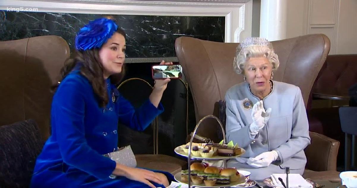 teaqueen.jpg - Voici comment prendre son thé comme Elizabeth II, la Reine d'Angleterre !