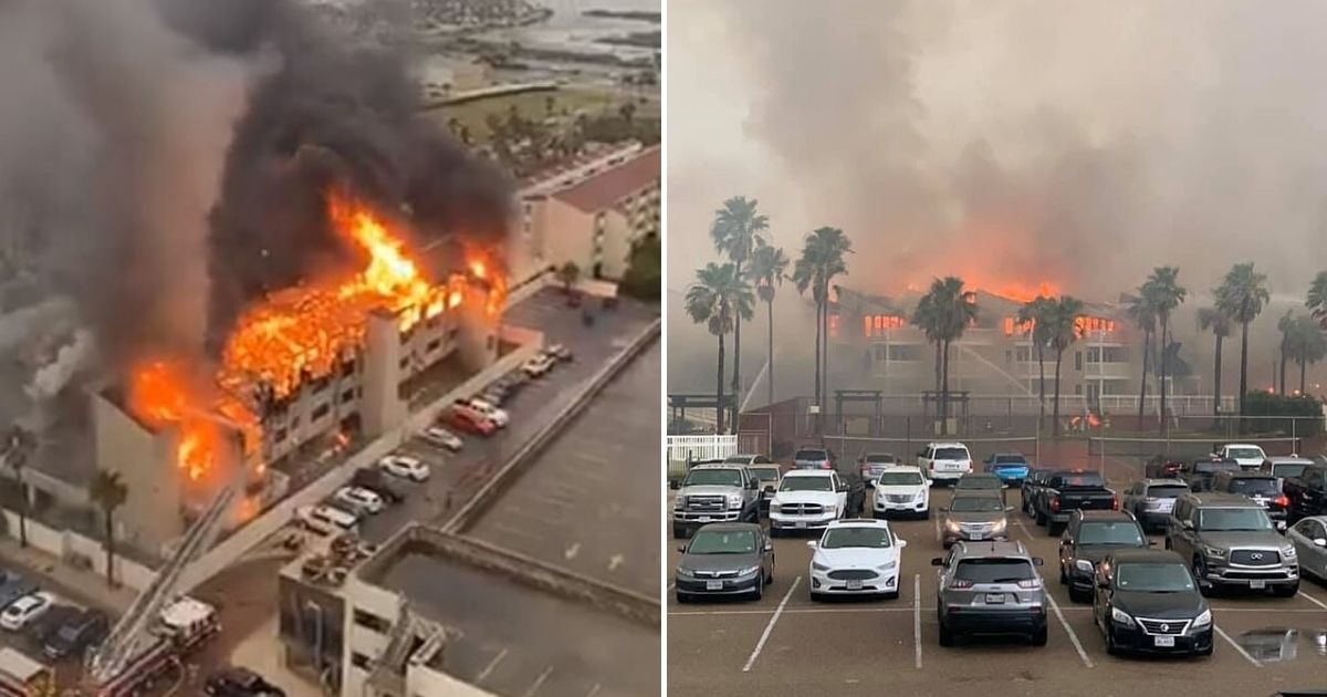 untitled design 4 8.jpg - Lightning Strike Suspected Of Starting A Massive Fire In A Texas Condo