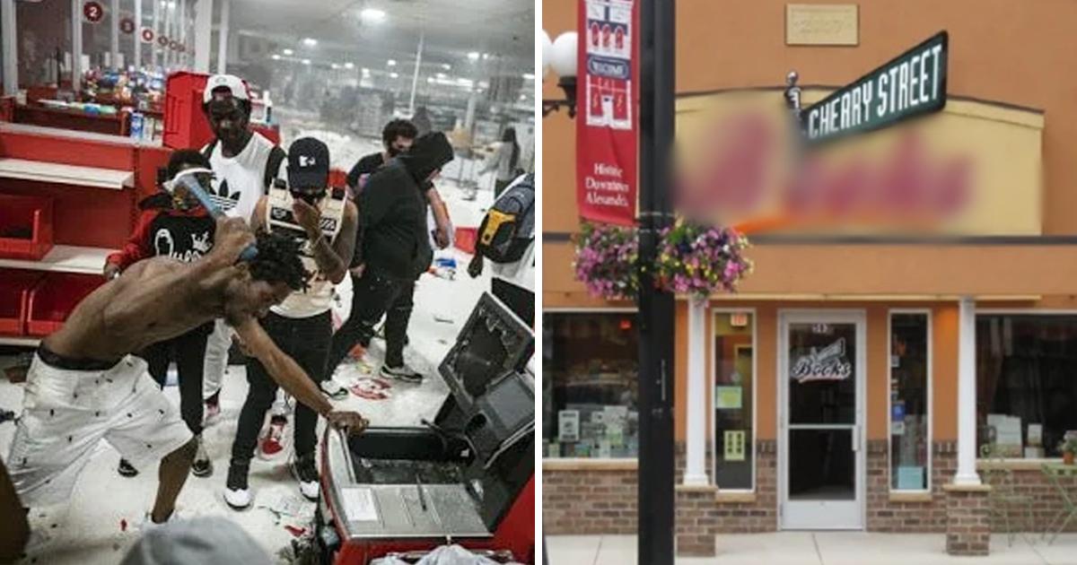 3 5.jpg - 美 시위대 약탈 속에서 유일하게 살아남은 상점