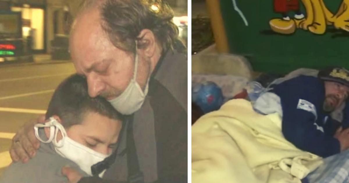 diseno sin titulo.png - Duerme En La Calle Junto A Su Hijo De 10 Años, Es Viudo Y Perdió Su Trabajo Por La Pandemia
