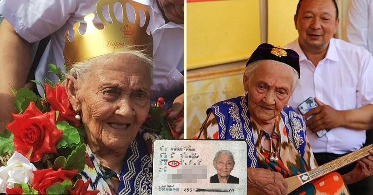 """dsfasdf 1.jpg - The """"World's Oldest Person"""" Celebrates Her 134th Birthday At A Banquet Party"""