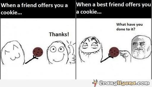 Friend vs best friend.