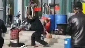Man beats wife to death in China as onlookers watch in horrific video