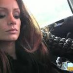 Brunette babe Sophie pounded in the fake taxi - Pichunter