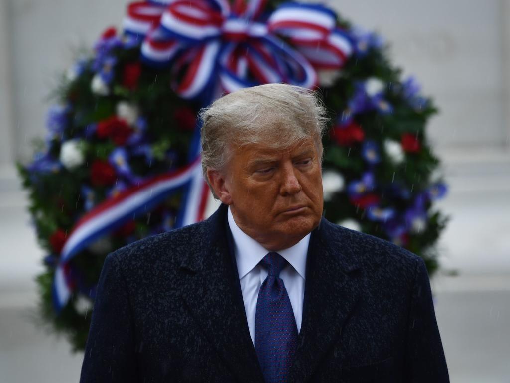 Election 2020: Scott Morrison calls Joe Biden after Donald Trump makes first public appearance | Herald Sun
