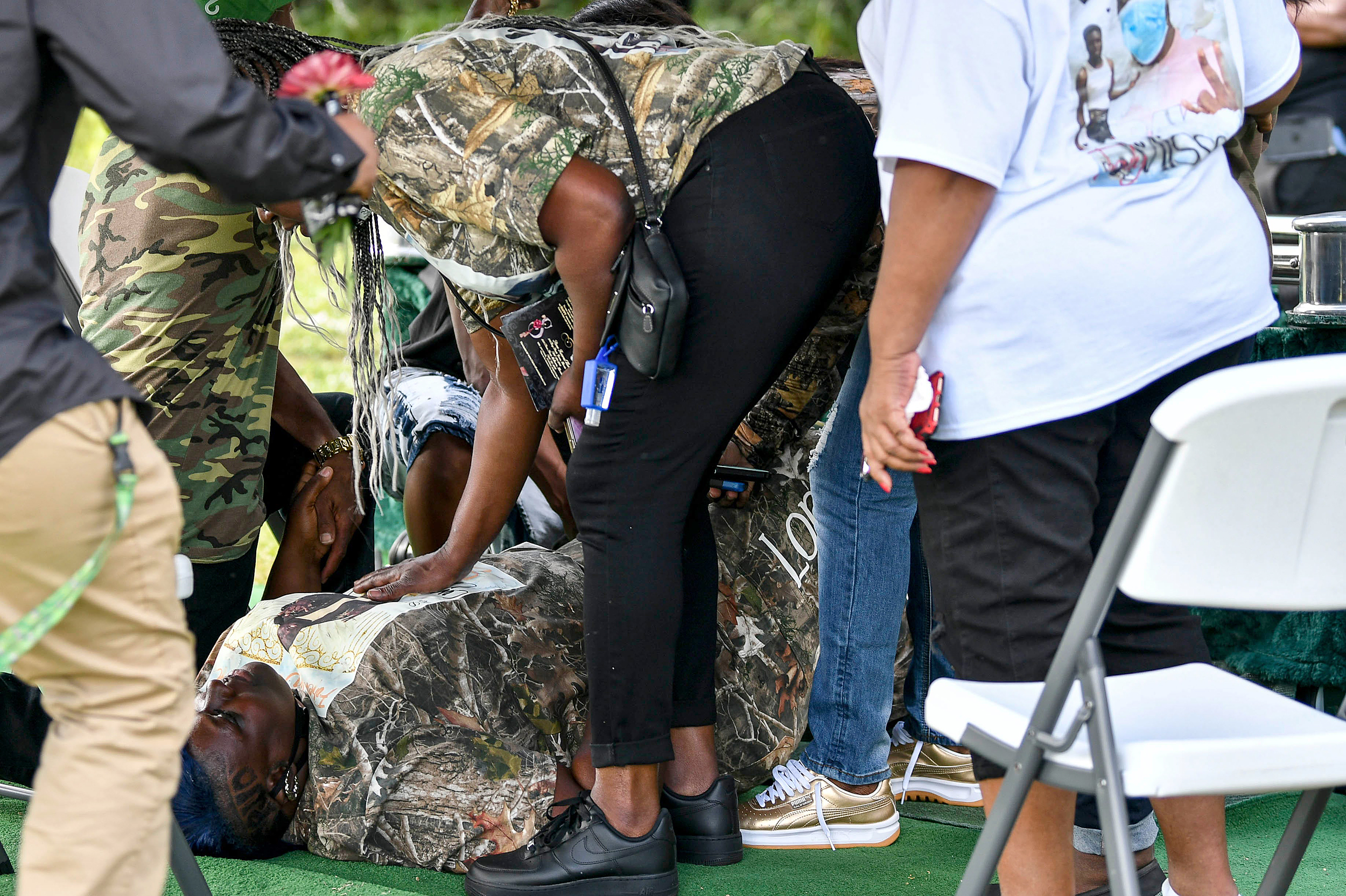 Mother of Black teen killed by Florida deputy is shot during son