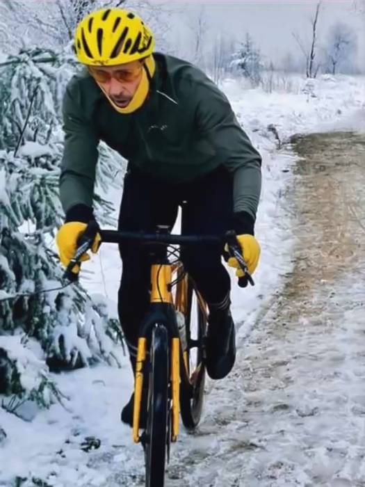 Impatient Cyclist Who