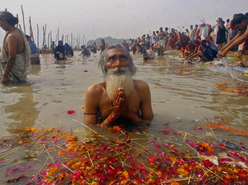 오염된 인도의 갠지스강 : 네이버 블로그