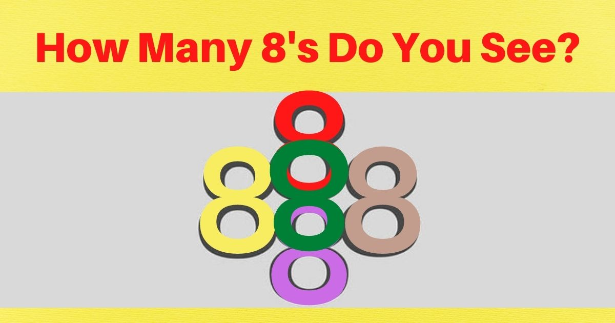 spot all of the 8's puzzle answer