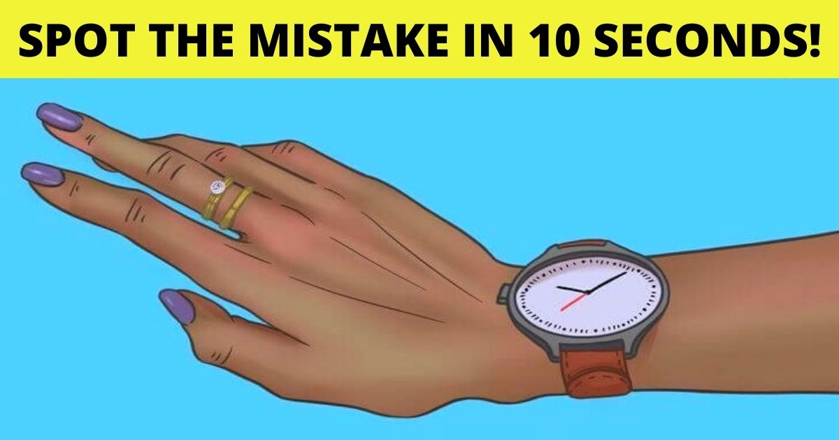 spot the mistake in 10 seconds.jpg - 90% Of Viewers Couldn't Spot The Mistake In 10 Seconds! But Can You?