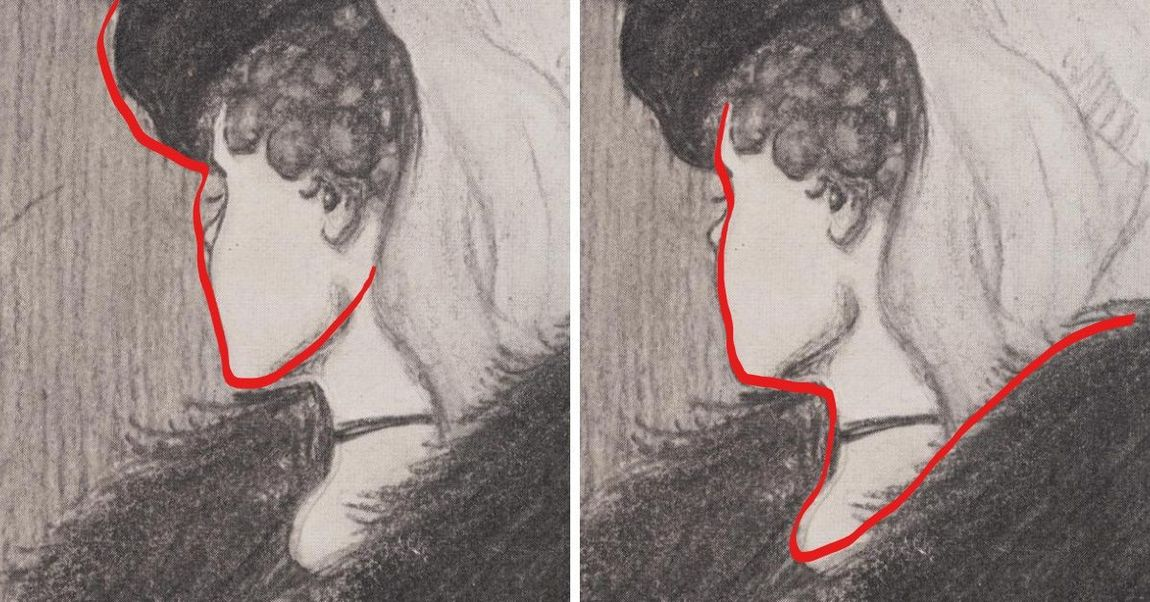 two women optical illusion explained