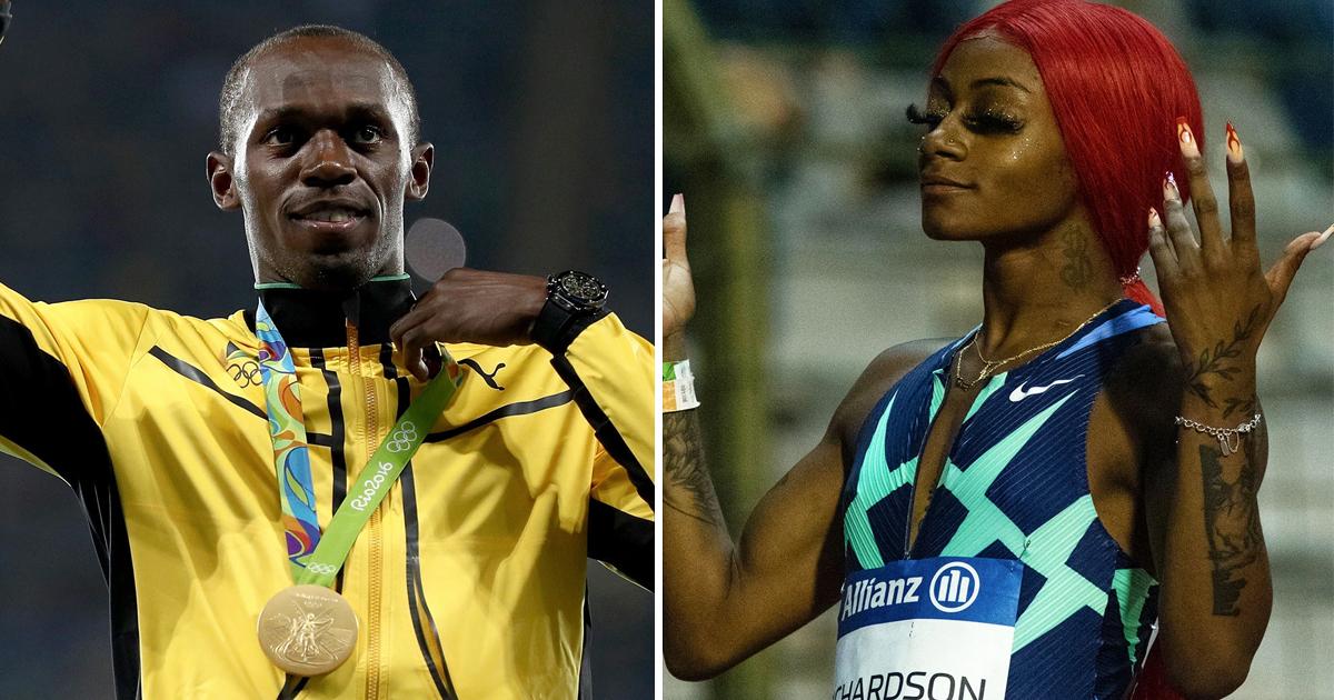 "1 58.jpg - ""Stop Trash-Talking & Focus On Training""- Usain Bolt's Advice To Sprinter Sha'Carri Richardson Causes Uproar"