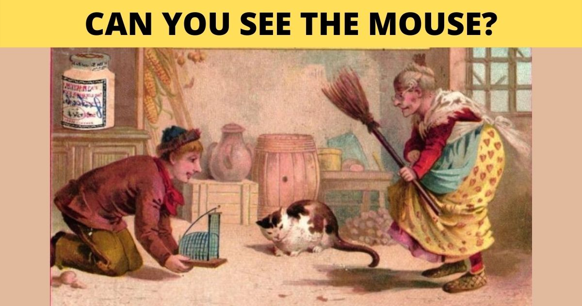1 59.jpg - Can You See The Sneaky MOUSE In This Vintage Photo?