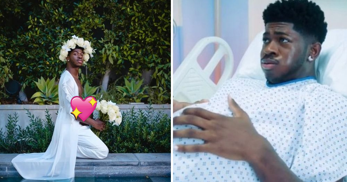 7 12.jpg - Baby 'Montero' Is Here! Lil Nas X Shares Startling Hospital Footage Of Him Giving BIRTH