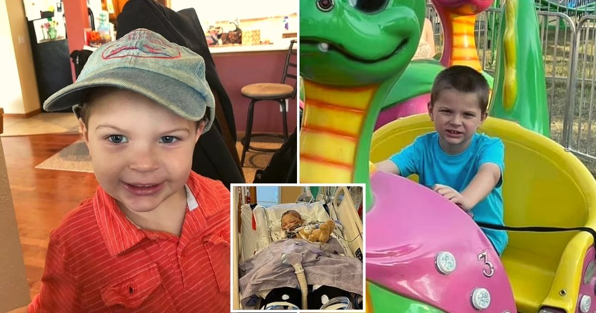 alex6.jpg - 6-Year-Old Boy Is Left Fighting For His Life After A 12-Inch Piece Of Steel From A Lawn Mower Struck Him In The Back Of His Head
