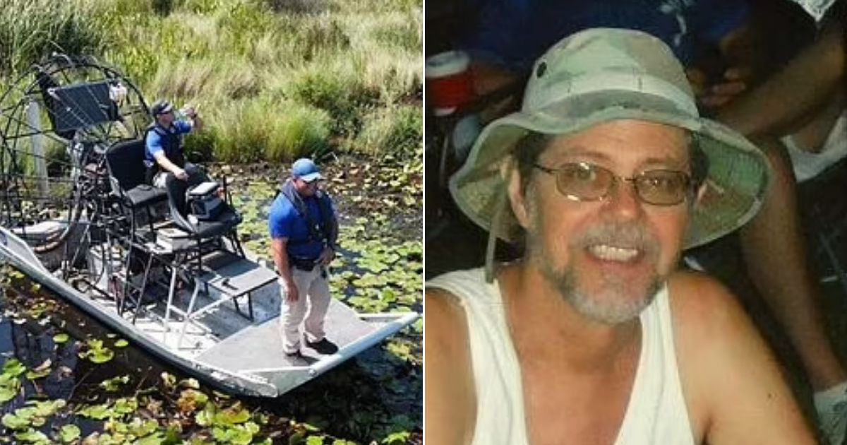 alligator6.jpg - Police Found Human Remains Inside Huge Alligator While Searching For Animal That Killed 71-Year-Old Grandfather