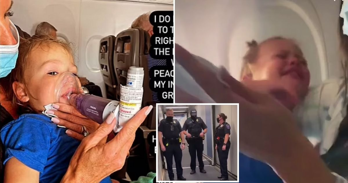 amanda5.jpg - Mother Says They Were Booted Out Of American Airlines Flight Because Toddler Son Was Suffering An Asthma Attack And Couldn't Wear A Mask