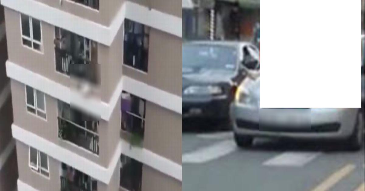 car 1.png - 彼と×××をしようとして…滑ってベランダから落ちた女性を車がキャッチ! ○○で衝撃吸収した⁉