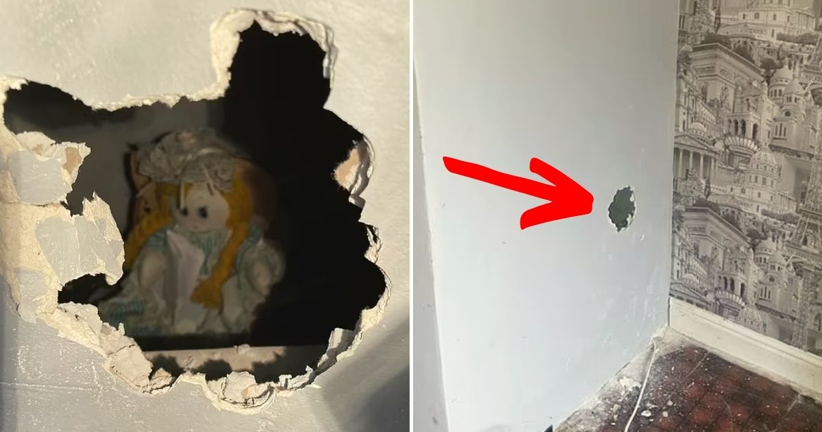 doll5.jpg - New Homeowner Finds A Rag Doll Inside A Wall With A Bone-Chilling Note That Says It Took The Lives Of The Previous Family Who Lived There