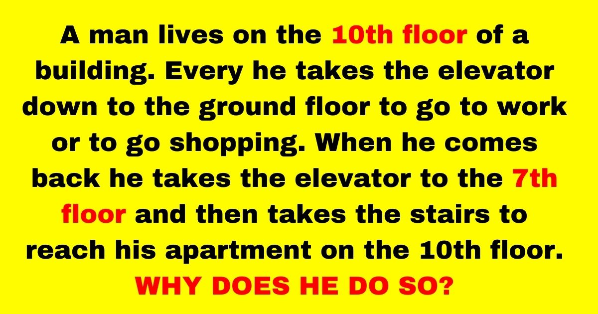 elevator3.jpg - 9 Out Of 10 People Can't Solve This Riddle But Can You Figure Out The Answer To This Question?