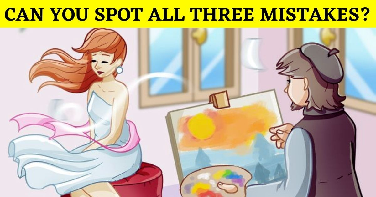 painting5.jpg - 9 Out Of 10 People Could Not Find The Errors In This Picture! But Can You Spot All Of Them?