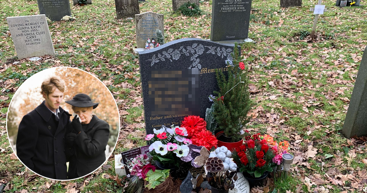q8 6.jpg - Dad's Family Left Fuming As Son REFUSES To Change INSULTING Gravestone Message Chosen By His Mom