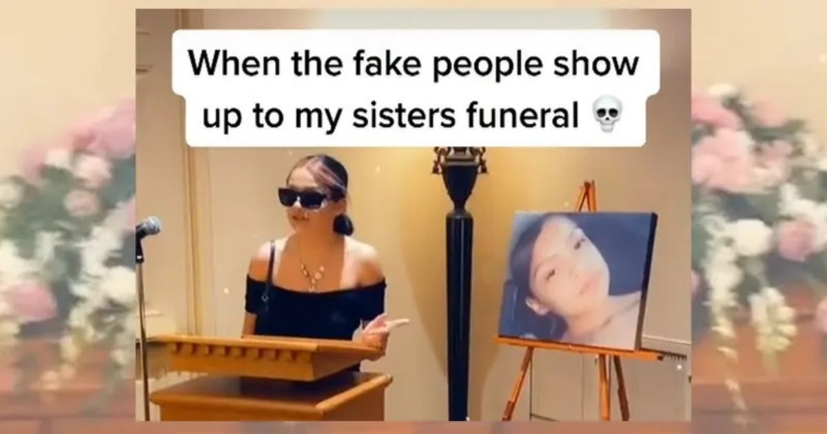 untitled design 42.jpg - Funeral Drama As Woman Calls Her Dead Sister's Friend A 'Fake B****' And Demands She Leaves The Room