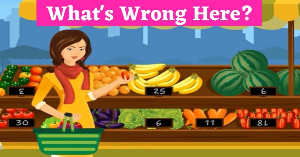 whats wrong here 2 1.jpg - Can You Spot The Mistake In This Picture Of A Lady At A Marketplace? 80% Of Viewers Failed The Test!
