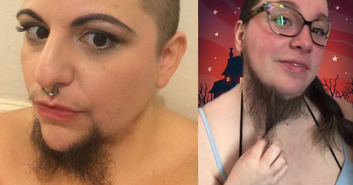 1 75.jpg - Bearded Lady Says Men Loves Her Facial Hair So Much That She Had To Create An OnlyFans Account