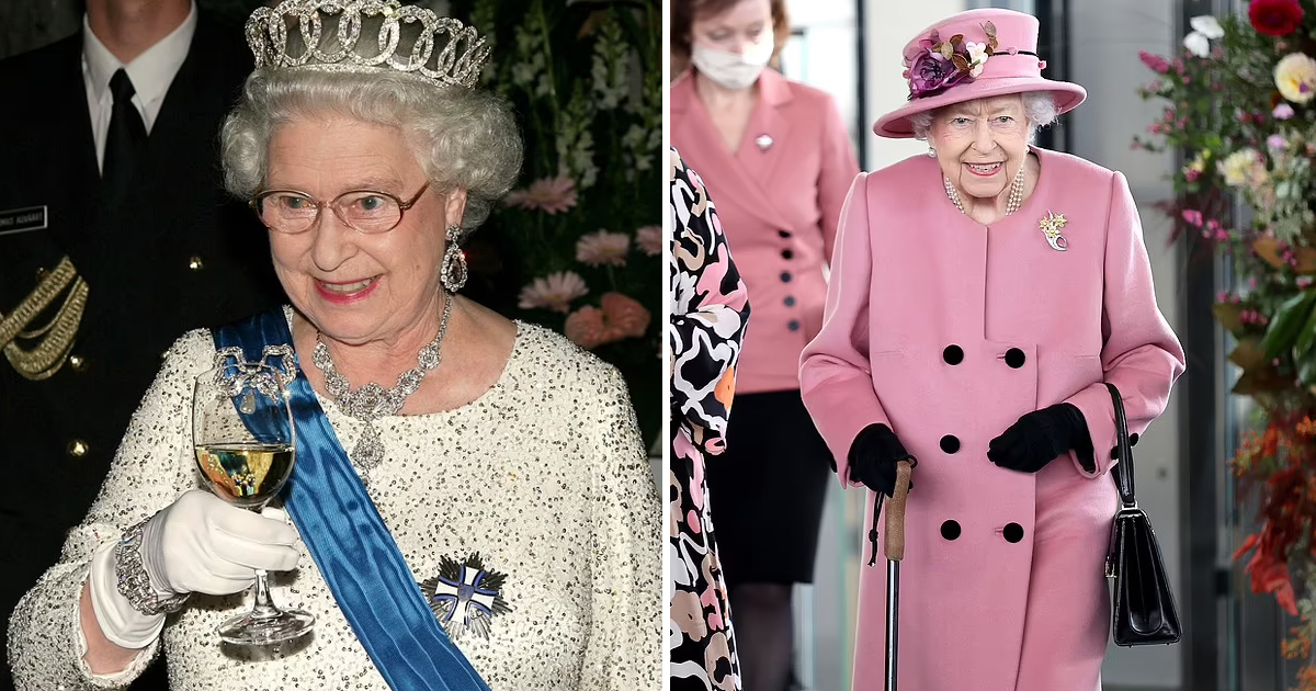 48.jpg - Royal Doctors' Against Martinis! The 95-Year Old Queen Elizabeth Has To Forgo Her Favorite Evening Cocktail