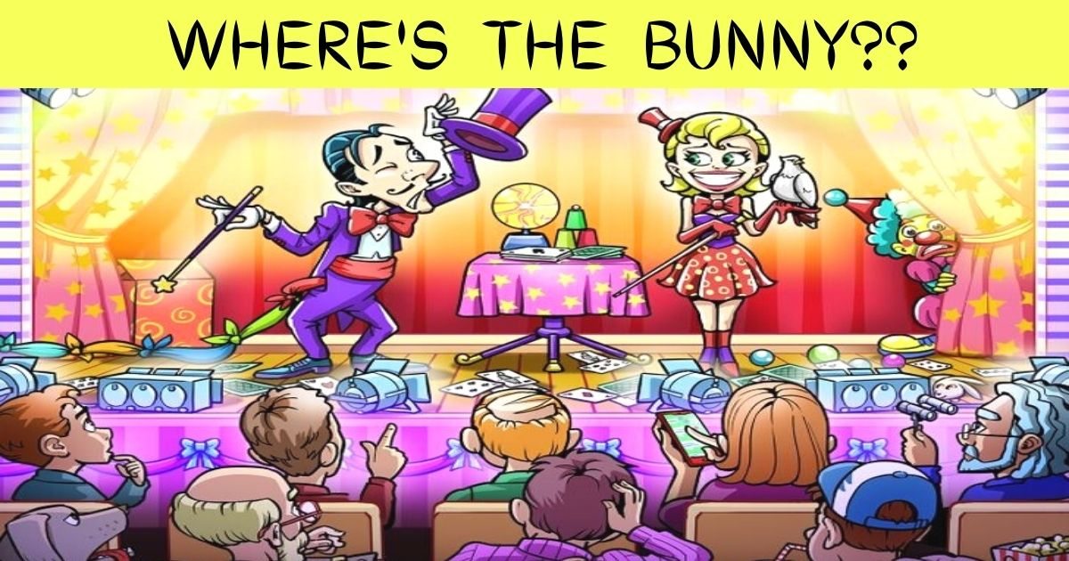 add a heading 2.jpg - Can You Find Out Where The Magician's Bunny Is Hiding? Most People Couldn't See The Hidden Animal!