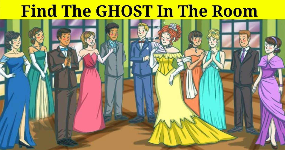 ghost4.jpg - 9 Out Of 10 People Can't Find The Ghost In The Room! But Can You Figure Out Who It Is?