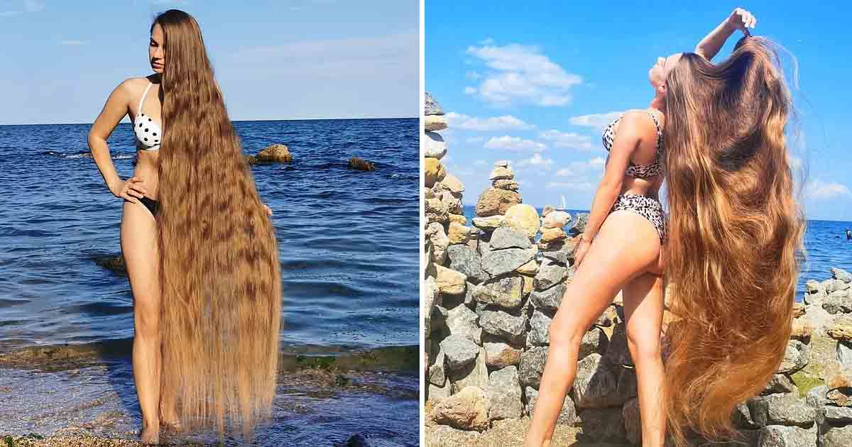 t1 1 2.jpg - Meet The 'Real-Life Rapunzel' Who Hasn't Cut Her Hair For 30 YEARS & Now They Reach Her Toes!