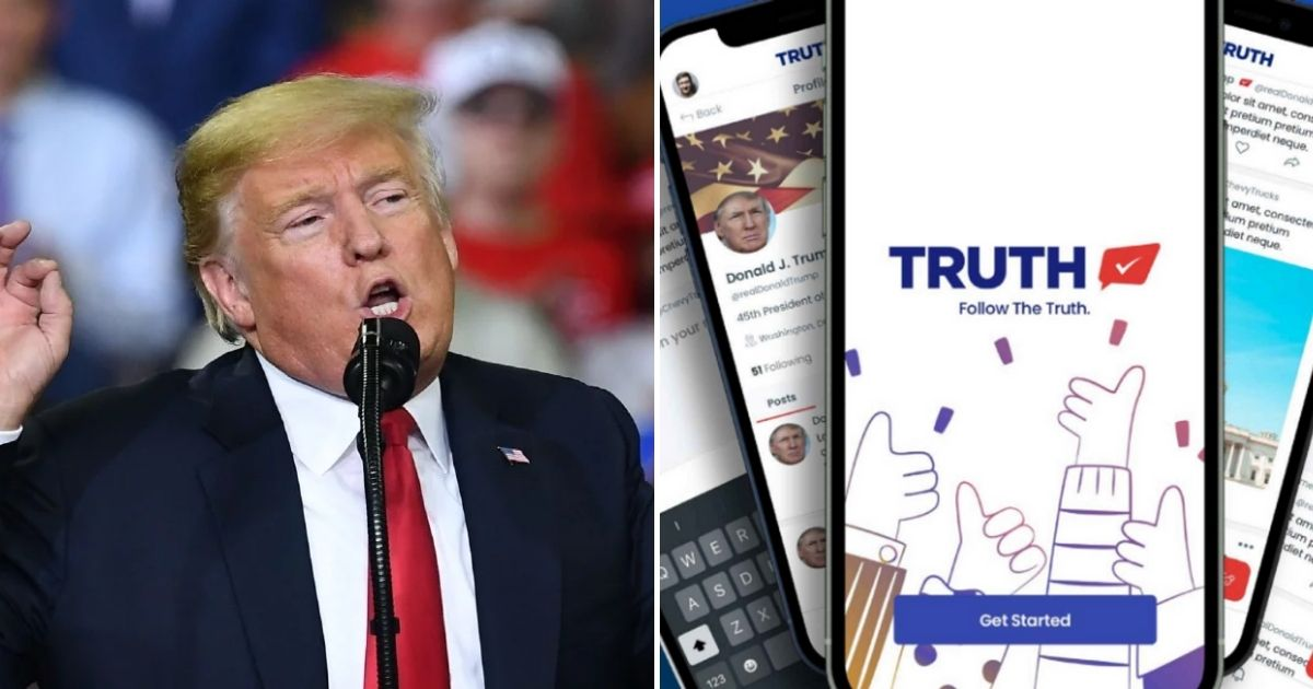 truth5.jpg - Trump's New Social Media Platform Is HACKED Before Its Official Launch And Fake Accounts Are Made Under His And Mike Pence's Name