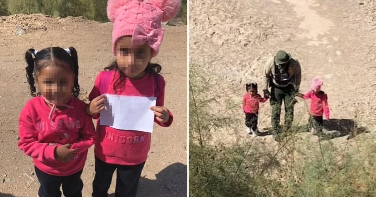 untitled design 2.jpg - Two Little Sisters Were Found Traveling All Alone While Carrying A Heartbreaking Sign Near The Border With Mexico